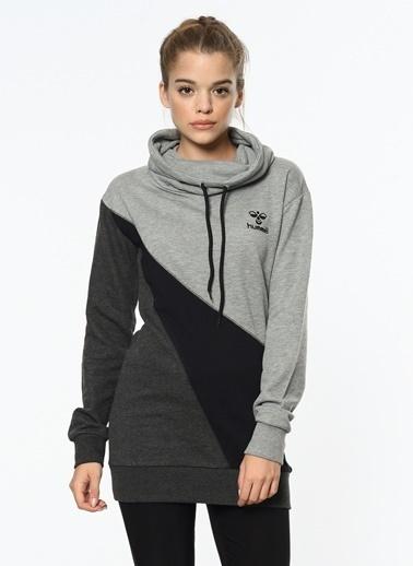 Hummel Uzun Kollu Sweatshirt Gri